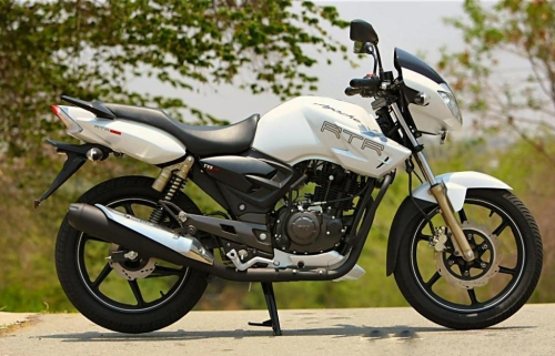 TVS motors  the Apache RTR 180