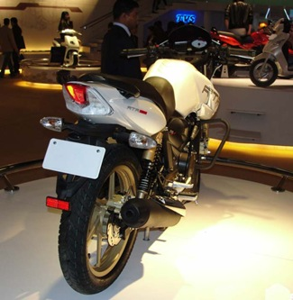 Auto Expo 2010 INDIA — TVS Bikes Wallpapers
